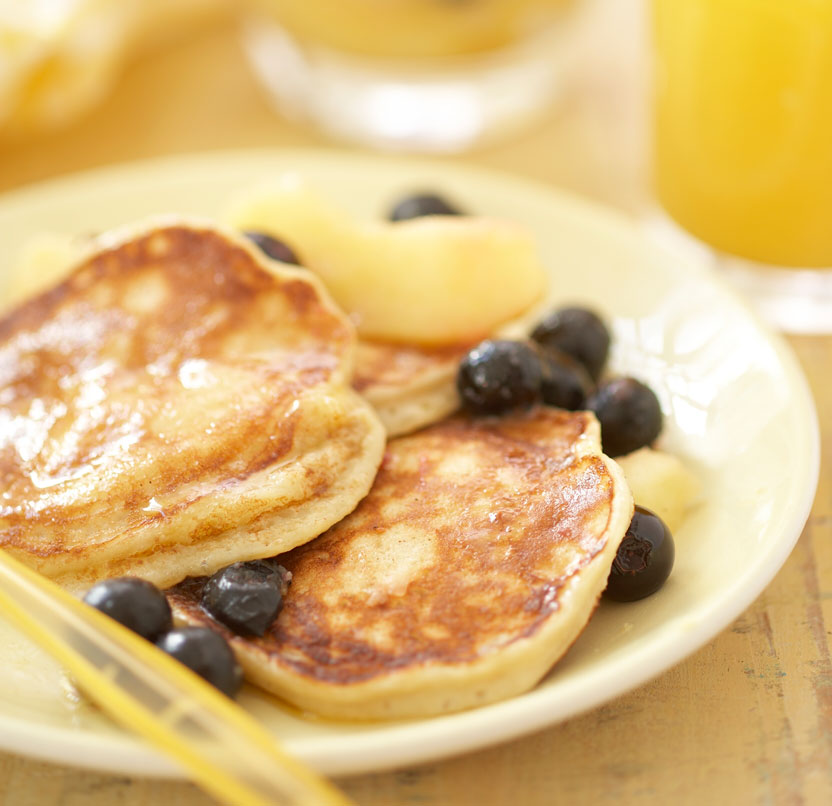 The Student Pocket Guide Banana and Yoghurt Pancakes Recipe
