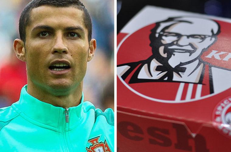 Celebrity Endorsements Ronaldo KFC
