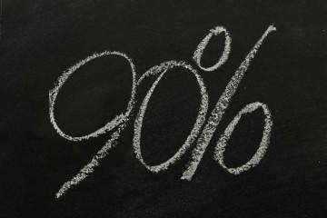 90 Percent Student Discount
