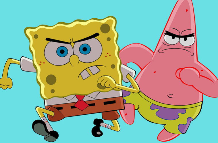 The Student Pocket Guide - Spongebob Characters: The Three ...