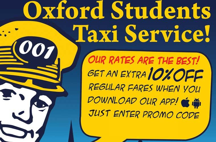 001 Taxis Oxford Student Promo Code