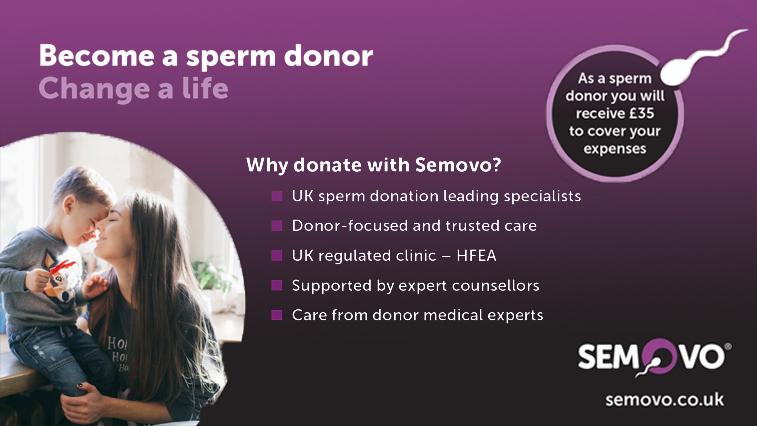 Sperm Donor with Somovo | Sperm Donor Scotland