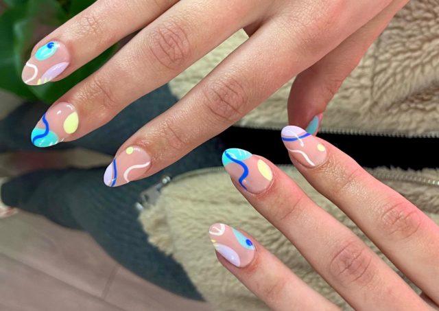 Abstract Nail Design | Sophia