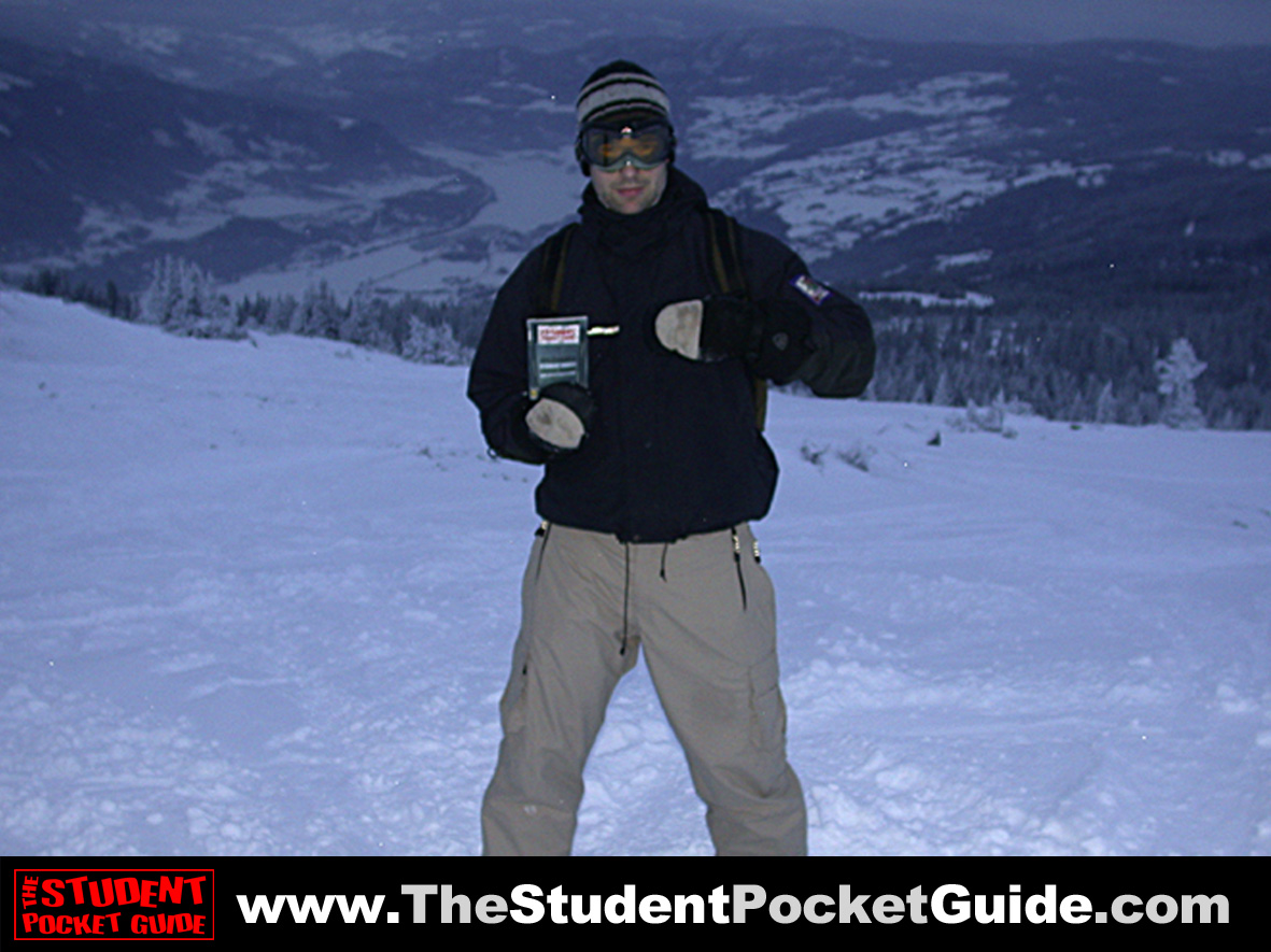 The Student Pocket Guide on Tour - Lillehammer Norway
