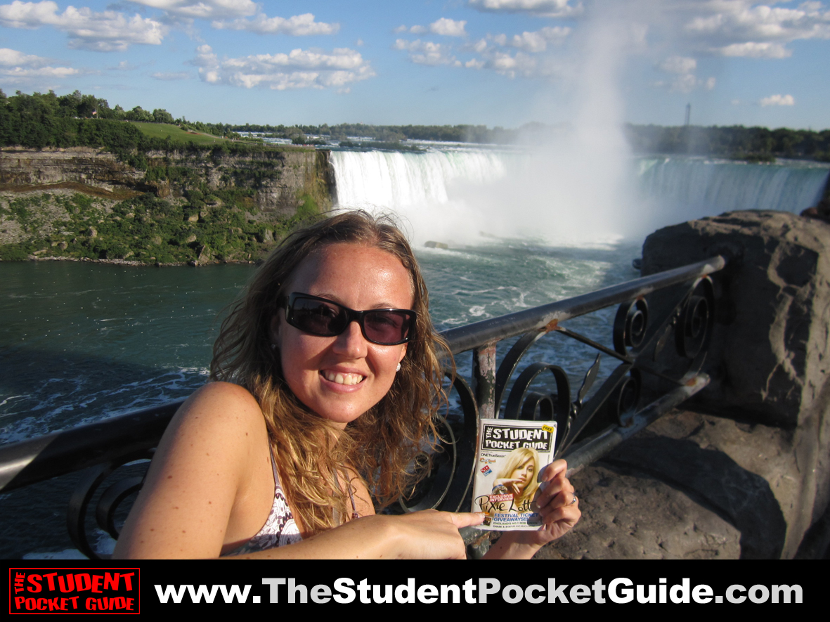 Issue-15-Niagra-Falls The Student Pocket Guide_SPG on Tour_