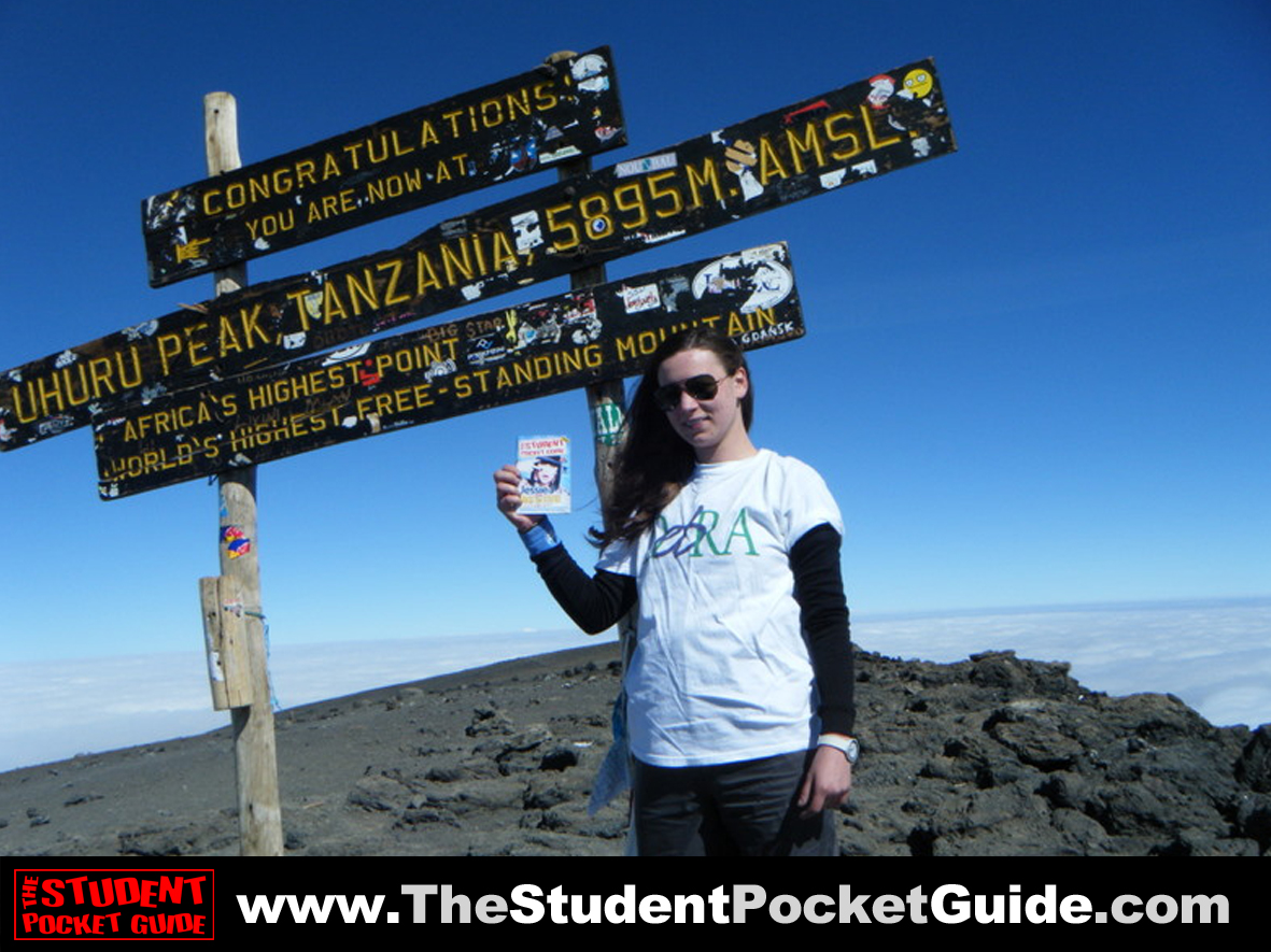 Issue-18-Mount-Kilimanjaro The Student Pocket Guide_SPG on Tour_