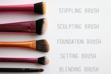 5 best make up brushes