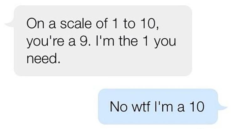 Awkward pick up lines