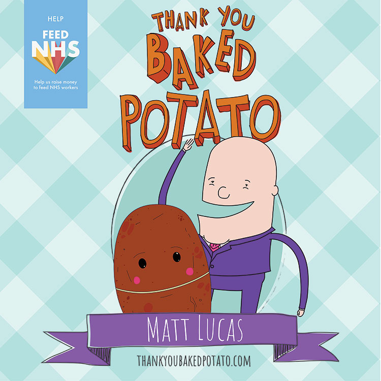 Matt Lucas Baked Potato