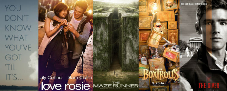 Book Adaptations 2014