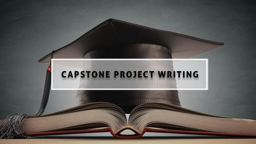 Capstone Project Writing