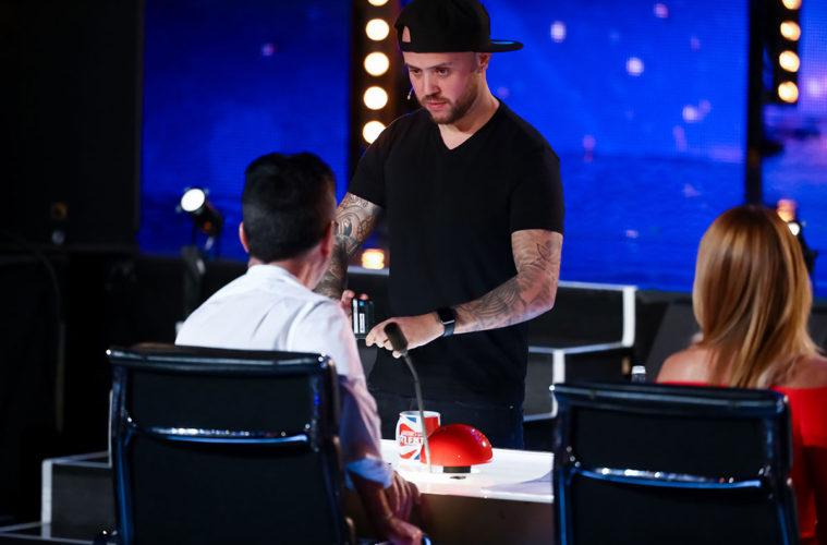 Damien O'Brien Britain's Got Talent
