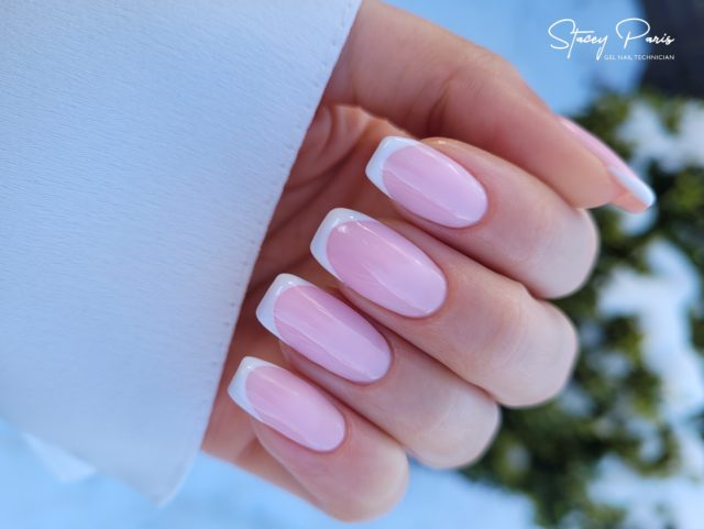 French Mani Nail Design | Stacey