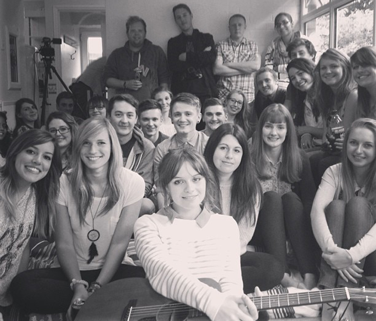 Intimate House Gig with Gabrielle Aplin The Student Pocket Guide