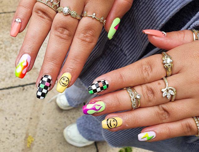 Mix & Match Nail Design | Elle