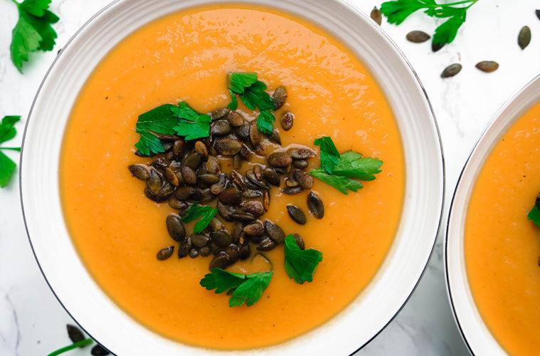 Michelle Braude Pumpkin Soup
