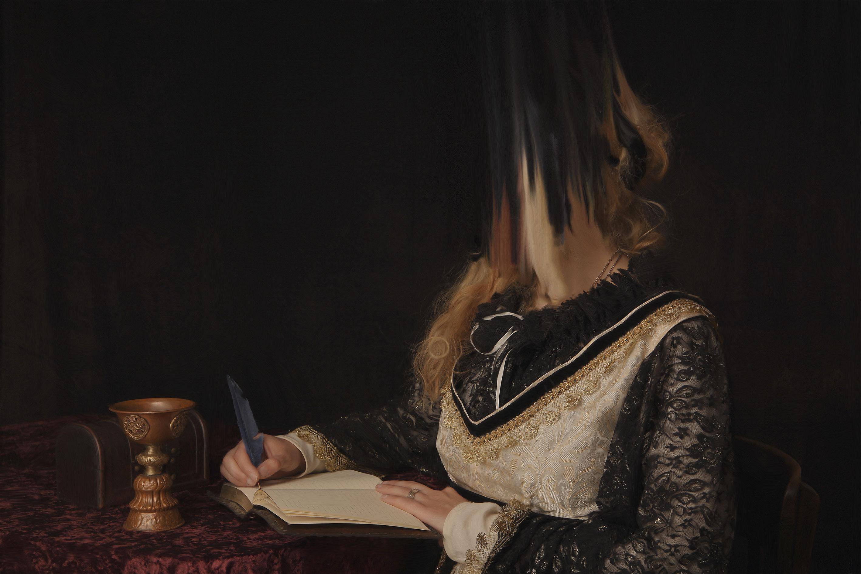 Anxiety Siris Hill Cruciation Painting