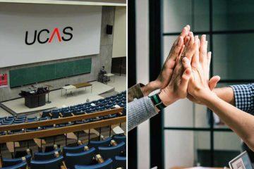 UCAS applications slump