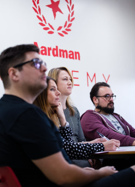The Aardman Academy Classroom