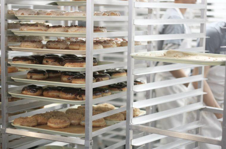stainless steel bakery racks