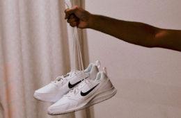 water bottle Nike trainers