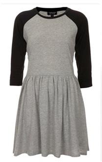 Topshop Contrast Dress