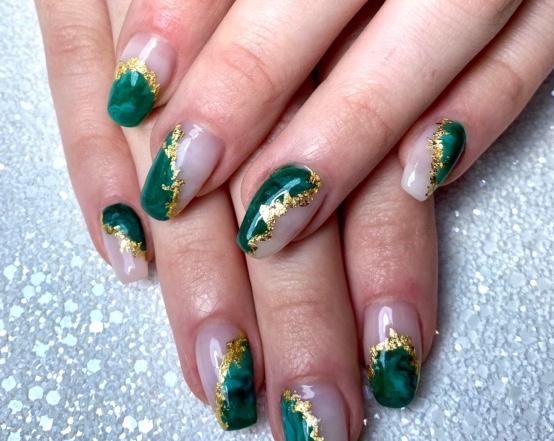 Marble Nails | Heidi