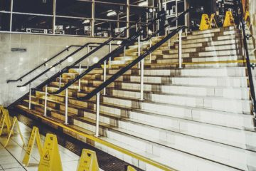stairway slip