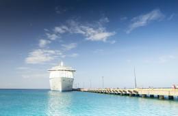 luxury cruise artwork