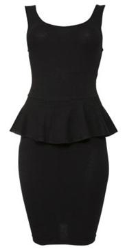New Look Peplum Dress