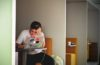 Guy with Laptop | Student Stress