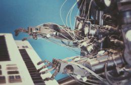 AI playing music